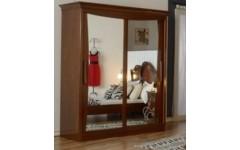 Двухдверный шкаф-купе в румынский мебельный гарнитур Капри, Мобекс