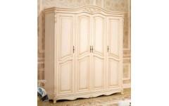 Бежевый четырехдверный шкаф в спальный гарнитур 801-2