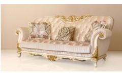 Богатый диван с позолотой Патриция в гостиную