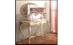 Белая консоль с позолотой Романтика, ENIGMA