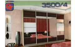 Большой шкаф-купе 3500