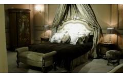 Красивый классическая кровать  мебельный гарнитур Шератон