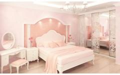 Белый мебельный гарнитур Принцесса, Украина