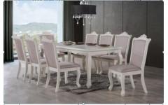 Белый классический стол со стульями Севилья, Китай