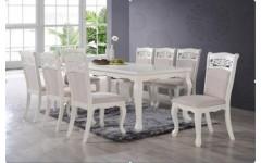 Классический белый стол со стульями Видень, Китай