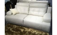 Белый кожаный комплект мягкой  мебели U 214, SOFTALY