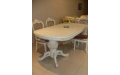 Белый обеденный стол Классик 04-01, Китай