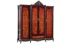 Шкаф четырехдверный в спальный гарнитур Сусанна Китай