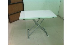 Белый глянцевый стол-трансформер B2219-S-6, Китай