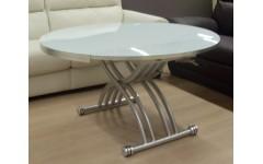Круглый стол в белом цвете,модерн B2252, Китай