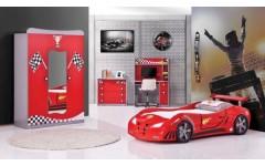 Мебель в комнату для мальчика Машинка RED CAR, Турция