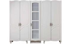 Белый одежный шкаф Ибица, Турция