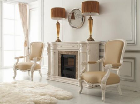 Купить камин электрический с эффектом пламени Карпентер 220 (белый)