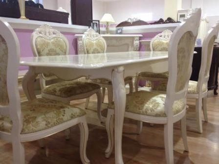 Купить столовую классическую мебель Коко Шанель в Киеве