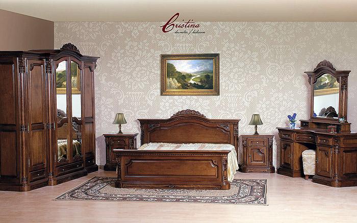 Классическая спальня Кристина Румыния фото