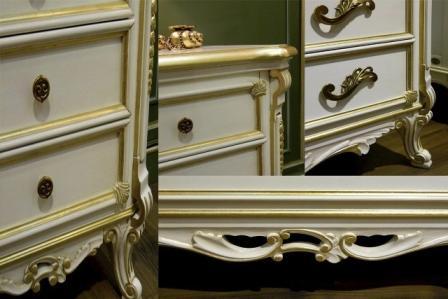 Купить румынские спальни из массива Cortigiana в Киеве