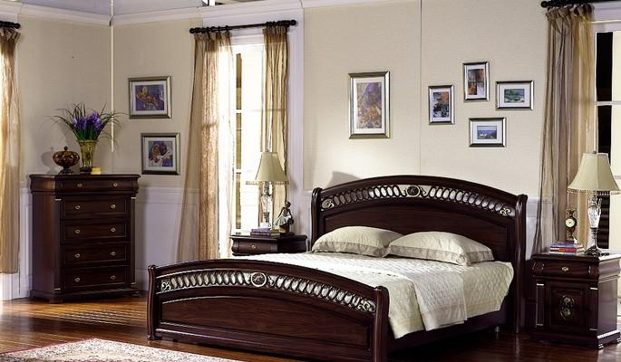 кровать, комод и тумба Флоренция