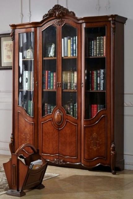 Купить книжный шкаф в библиотеку Честер chester недорого.