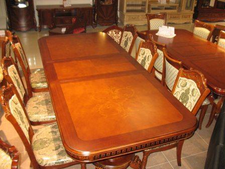 купить недорогой большой раскладной стол для гостиной комнаты