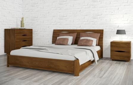 Купить кровать в спальню из массива производства Украины