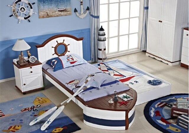 Купить детскую кровать для мальчика