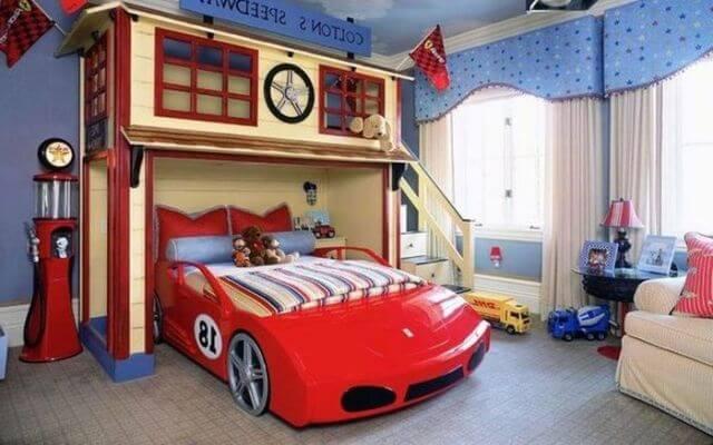 Купить кровать в детскую комнату для мальчика