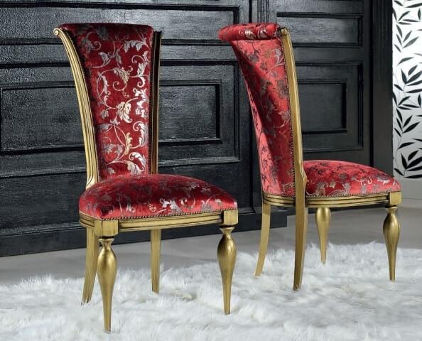 Купить стул из массива дерева в классическом стиле | MebelRooms.com.ua