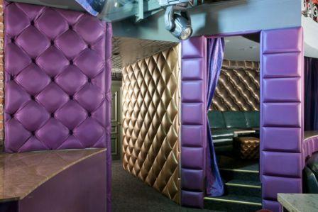 Мягкие настенные панели для кафе, баров, ресторанов