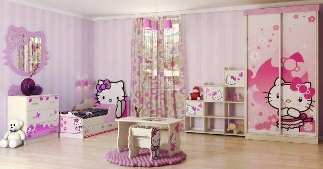 Особенности детской мебели для девочек