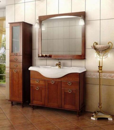 классическая мебель для ванной