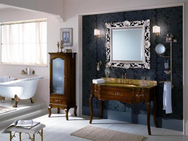 классическая мебель для ванных комнат