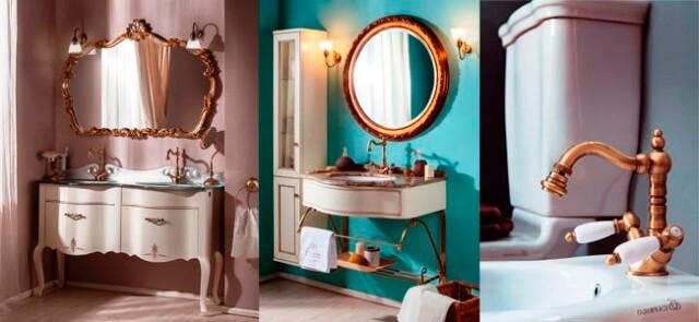мебель для ванной в стиле прованс